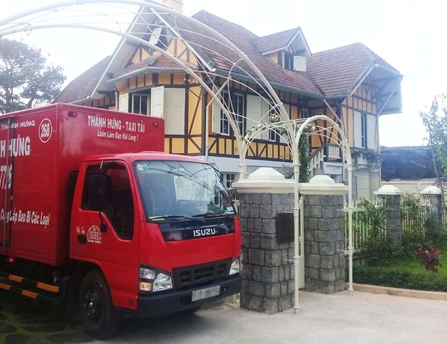 Dịch vụ chuyển nhà giá tốt Thành Hưng